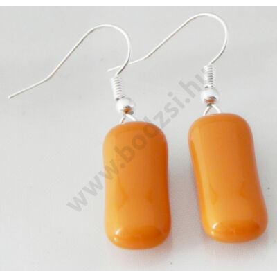 Narancs színű extra vagány fülbavaló