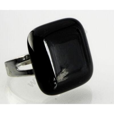 Fekete üveg gyűrű-Solo