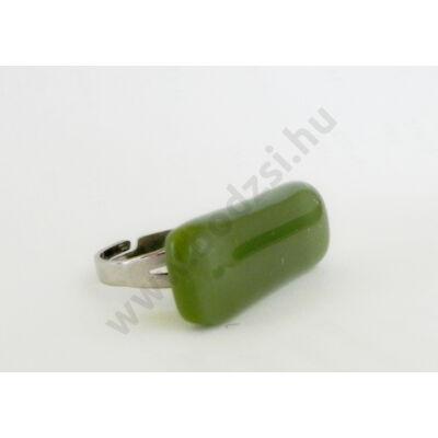 Olíva színű gyűrű-SoloExtra