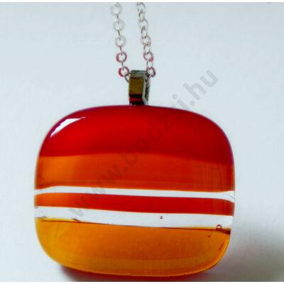 szinatmenet-medal-uveg-uvegekszer-piros-narancssarga